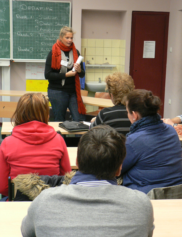 Studieninfotag Frida-Levy-Gesamtschule